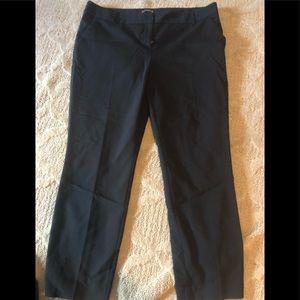 Express black ankle pants